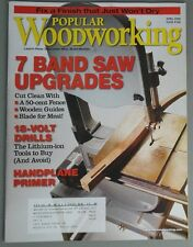 Popular Woodworking - Band Sawing, Greene Inspired Storage Chest, Plans #168