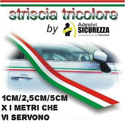 StickersLab 14 Adesivi bandiera Italiana in vinile ultra resistente per moto vespa auto fiat 500 casco 3,5cm x 1cm