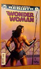 Wonder Woman # 5 DC Universe Rebirth (1st Print) Variant