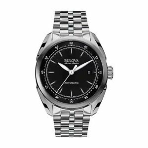 Bulova-63B193-Men-039-s-Tellaro-Accu-Swiss-Black-Automatic-Watch