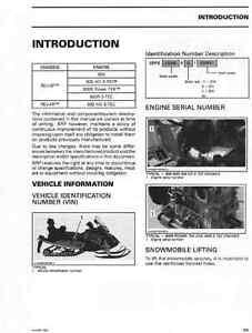 2011 ski doo rev xp xr series 600 800r snowmobile service manual rh ebay com ski doo service manual 2016 ski doo service manual 2016
