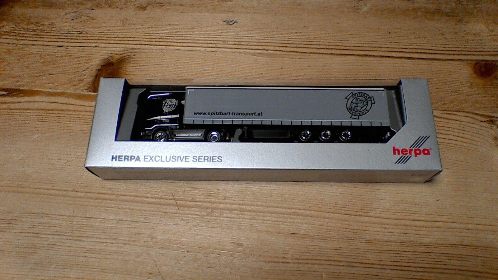 ventas en linea Herpa 932530 932530 932530 scania r13 Topline visillos planear-remolCochese  spitz Bart  1 87  diseño único