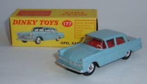 Dinky Toys n ° 177, Opel Kapitan, - Superbe menthe neuve