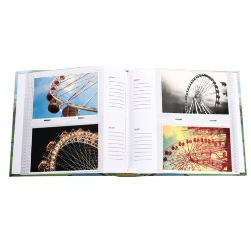 2XCute Dinosaurs Scene Slip In Memo  Photo Album/' 6x4/' For 200 PhotosAL-9155-2PK