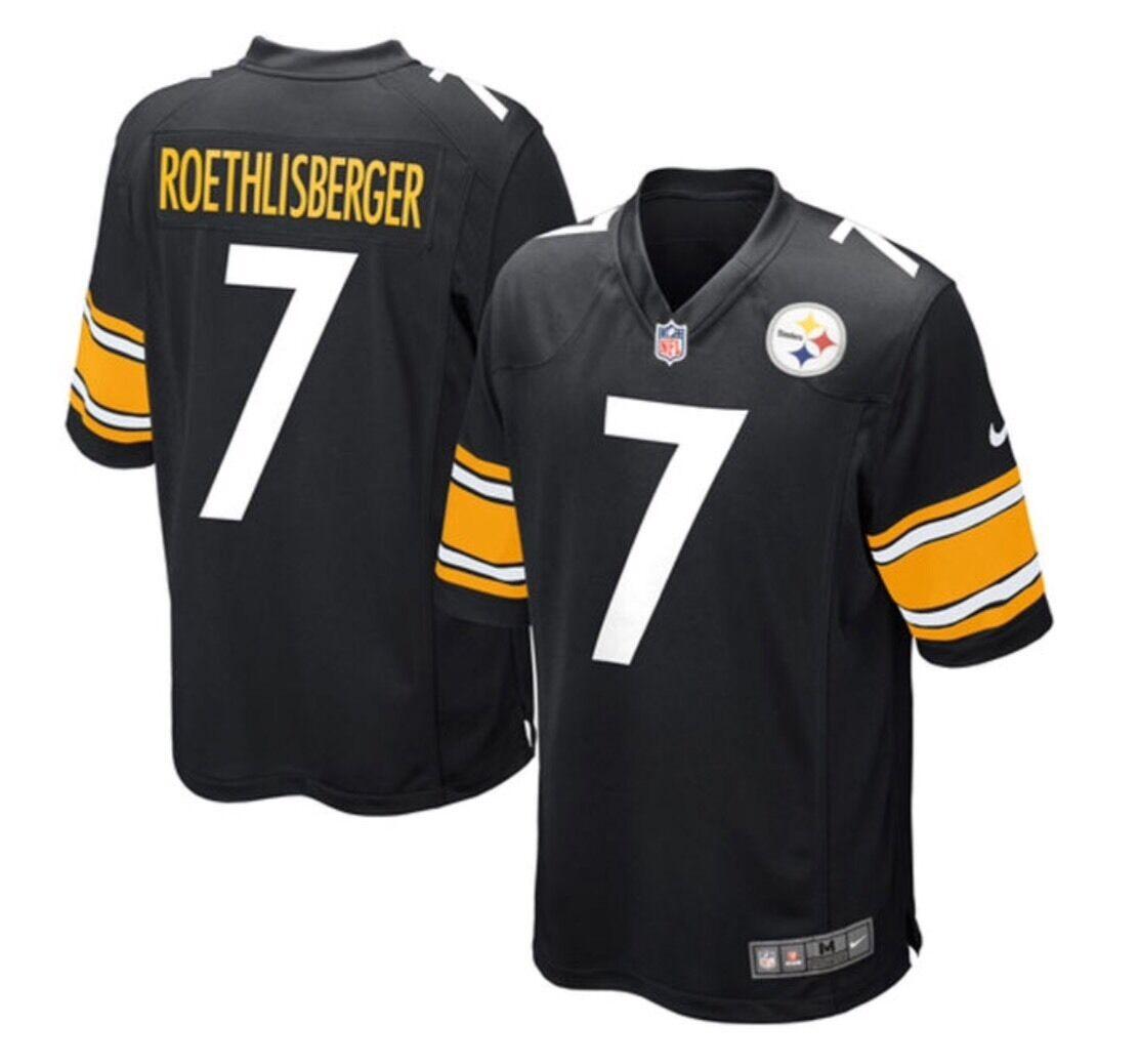 3b9c090ba9f Pittsburgh Steelers  7 Big Ben Roethlisberger Nike Jersey 3xl XXXL ...