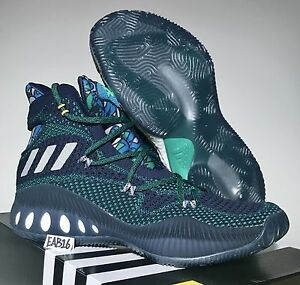 detailed look 93637 f308a ... Image is loading Adidas-Crazy-Explosive-Andrew-Wiggins-Away-PE ...