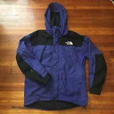 Vintage The North Face Gore Tex Mountain Parka Jacket Men's Size Large BLUE!!!