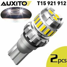 Auxito Led Reverse Back Up Light Bulb 6500k White 921 912 W16w Replace Halogen A