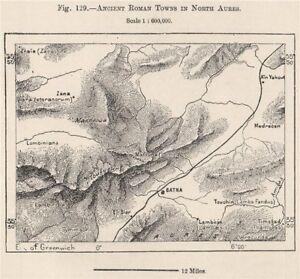 Roman towns in North Aurès Mountains.Batna Timgad Lambaesis.Algeria ...