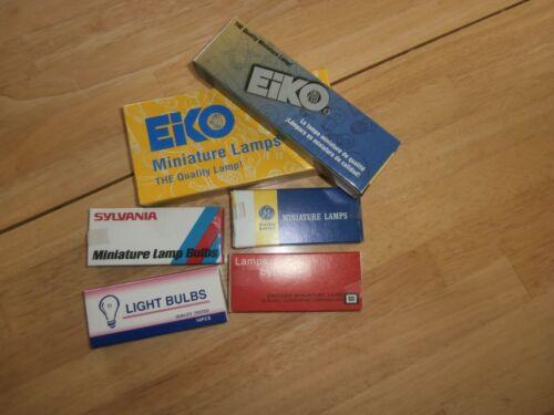 Lot//10 Miniature Light Bulb Lamps 60PSB//60PSB5,NOS