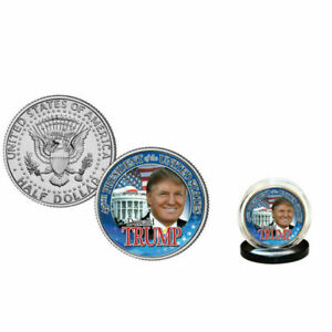 DONALD-TRUMP-45th-President-2016-U-S-Half-Dollar-Coin-WHITE-HOUSE