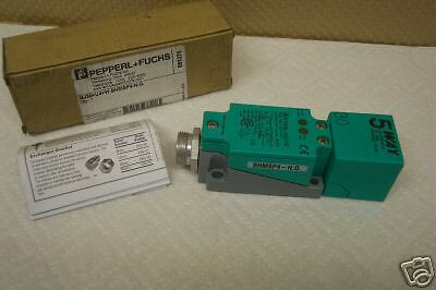 PEPPERL FUCHS NJ30U4WBHMSP4NO PROXIMITY SWITCH NEW