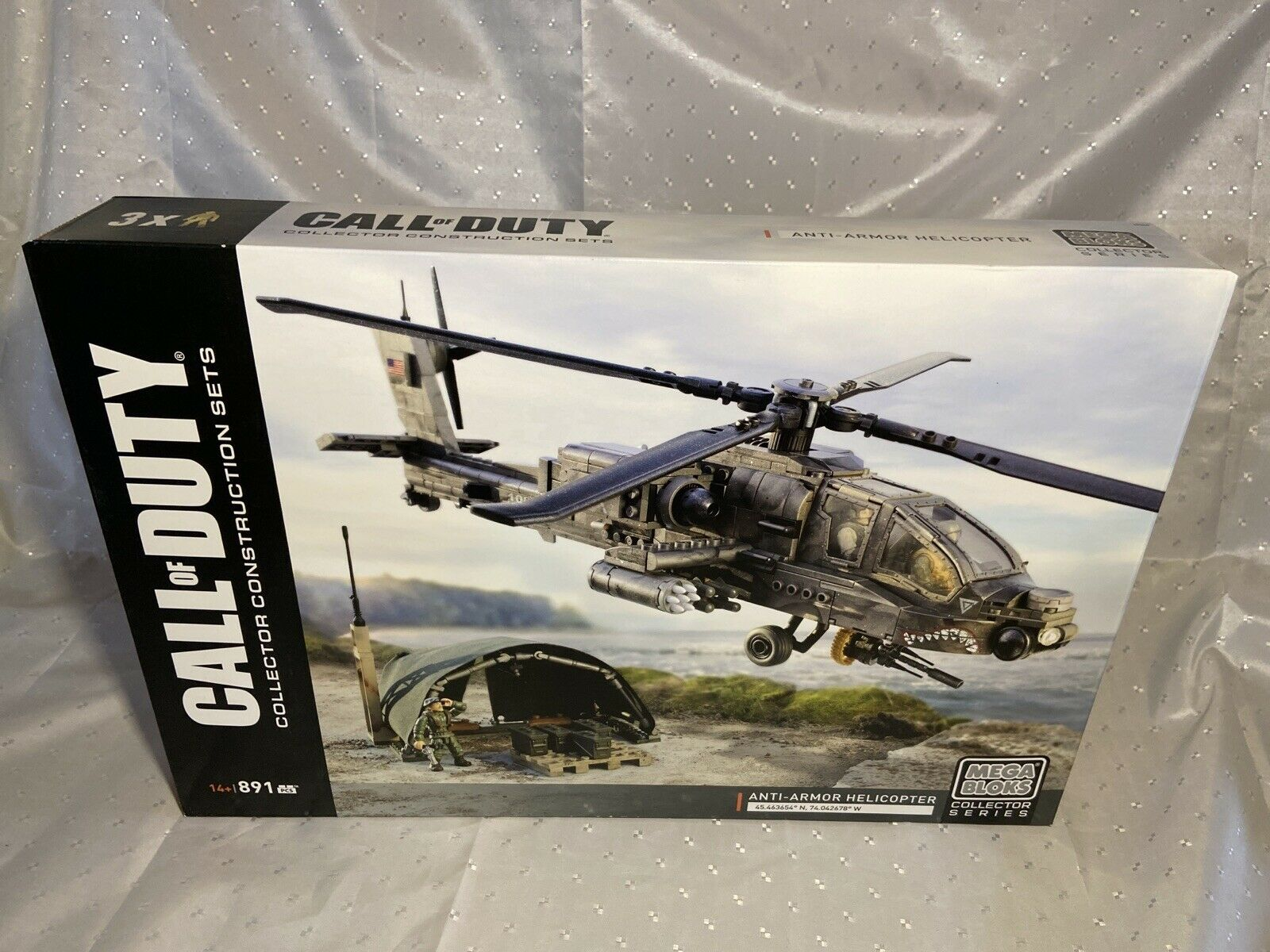 Mega Bloks Dpb60 Call Of Duty Anti Armor Helicopter Soldiers Collector For Sale Online Ebay