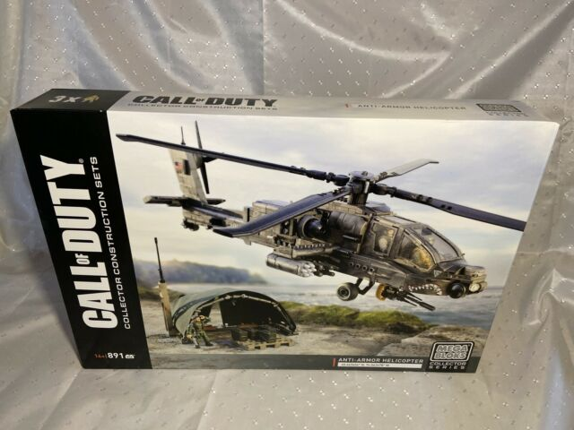 New - Anti-Armor Helicopter - Mega Bloks Call Of Duty DPB60 COD