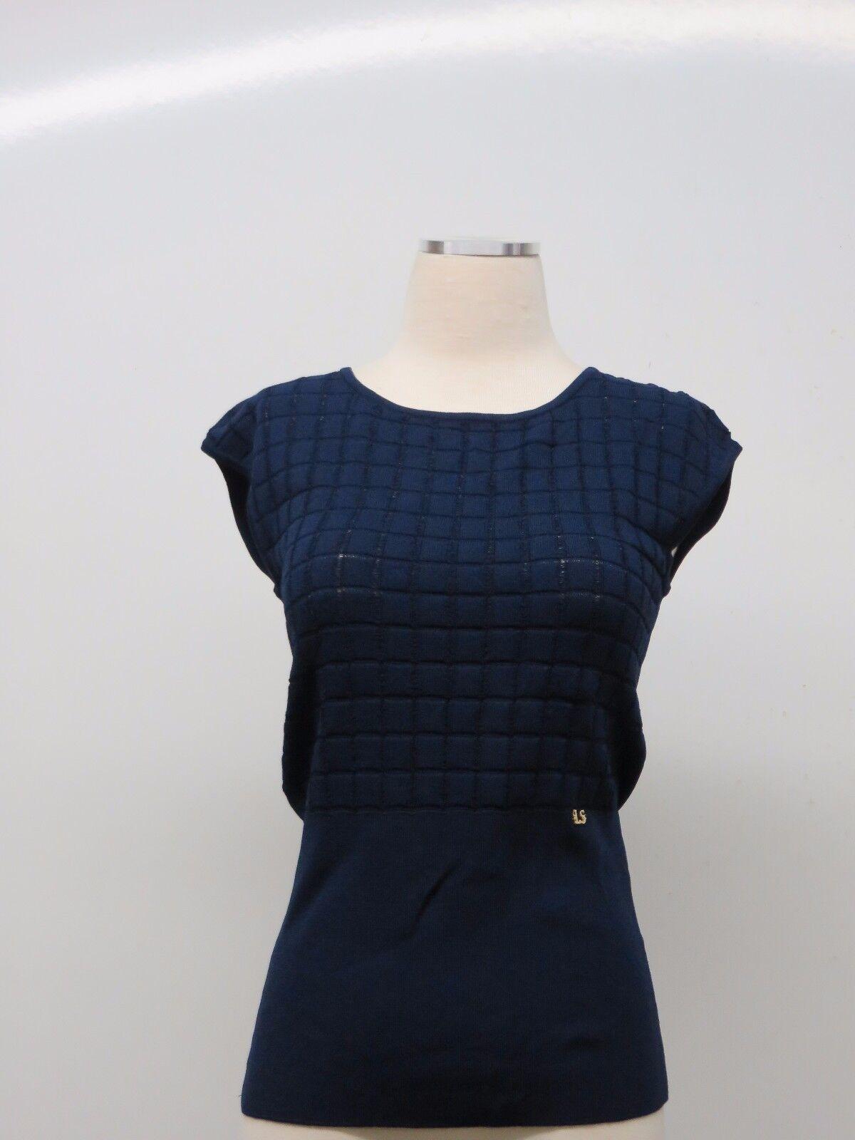 New LUISA SPAGNOLI Italian Knit sleeveless  Shell