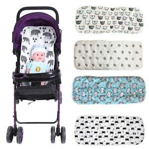 Washable Soft Baby Kids Stroller Pram Pushchair Car Seat Liner Pad