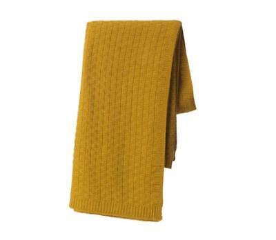 IKEA Antoinetta Sofa Throw Blanket Fleece Snuggly Soft Light Grey
