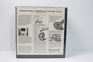 Vintage & Rare HONEYWELL - RONDELLE CIRCULAR 100 SLIDE CAROUSEL PROJECTOR TRAY