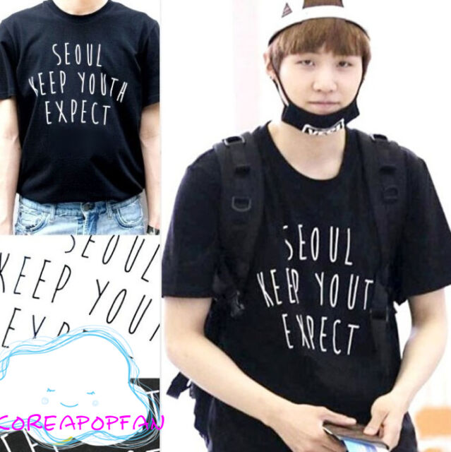 BTS SUGA 2015 SEOUL BEGINGS T-shirt Bangtan Boys unisex Kpop New