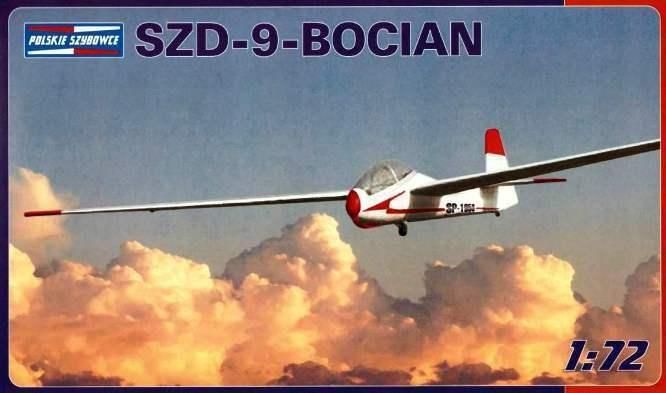 SZD 9 BIS BOCIAN (CIGÜEÑA) PLANEADORES PLANEADOR 1 72 PZW pzl