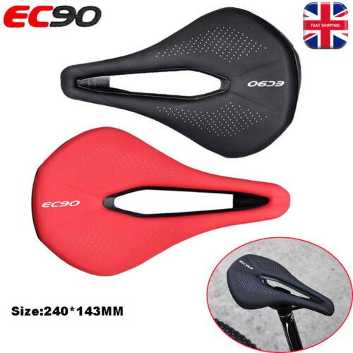 Bicycle Saddle Steel Bow Cushion Gel Soft Leather MTB Road Bike Saddles Seat