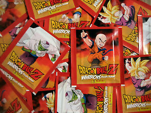 Panini-Dragonball-Z-Warriors-50-Tuten-250-Sticker-Neu