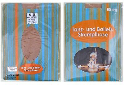 Tanzmariechen Strumpfhose 1x Garde Eislauf Ballett Strumpfhose 90den glänzend