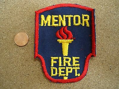 Vintage Jefferson Twp Ohio Volunteer Fire Department Patch New Old Stock