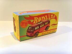 Hot-Wheels-Redline-Excelente-Display-Personalizado-Caixa-039-Beach-Bomb-034-carga-traseira