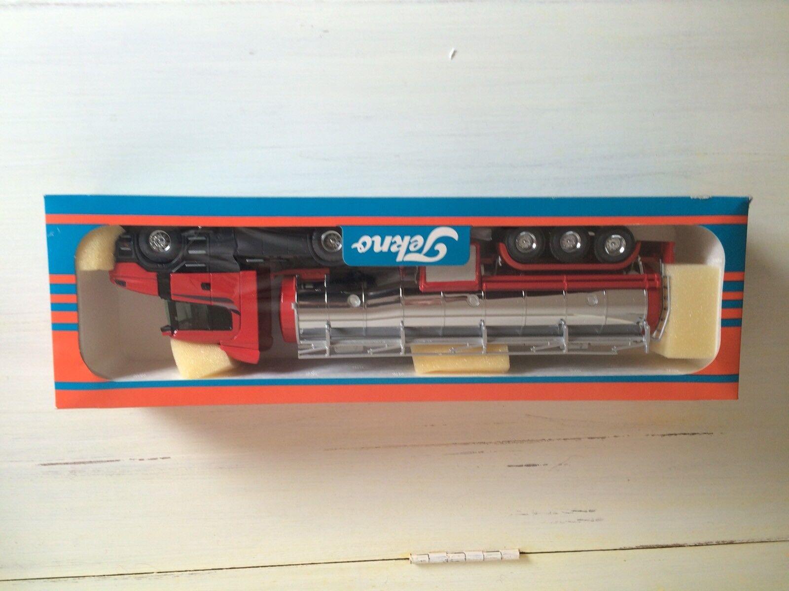 Tekno Échelle  1 50 Collector Maquette SCANIA Nez Long  124l Et Citerne  connotation de luxe discret