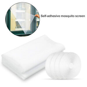 Mesh-Door-Net-Magic-Curtain-Magnetic-Snap-Fly-Bug-Insect-Mosquito-Screen-Guard