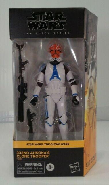 Star Wars: The Clone Wars Black Series 332nd AHSOKA'S CLONE TROOPER 03 *In Hand*
