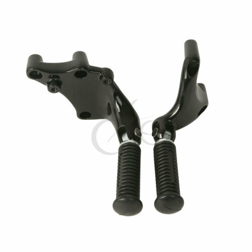 Rear Passenger Foot Pegs Mount Kit Fit For Harley Sportster XL 883 1200 14-19