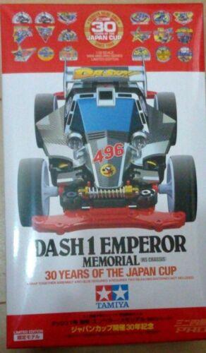 Tamiya 95110 Mini 4WD Dash-1 Emperor 30th anniversary of the Japan Cup Japan NEW
