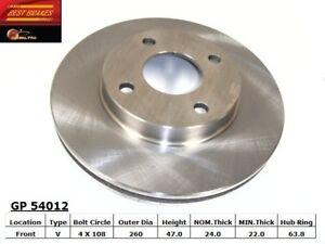 Disc-Brake-Rotor-fits-1995-2002-Mercury-Mystique-Cougar-BEST-BRAKES-USA