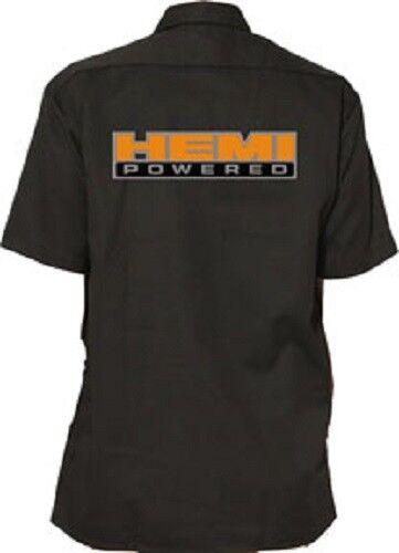 HEMI WORK SHIRT - Official Licensed Mechanic Hemd Kurzarm Worker Chrysler Dodge