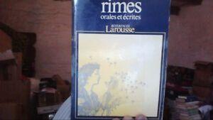 Dictionnaire-des-rimes-orales-et-ecrites-de-Collectif-Livre-d-039-occasion
