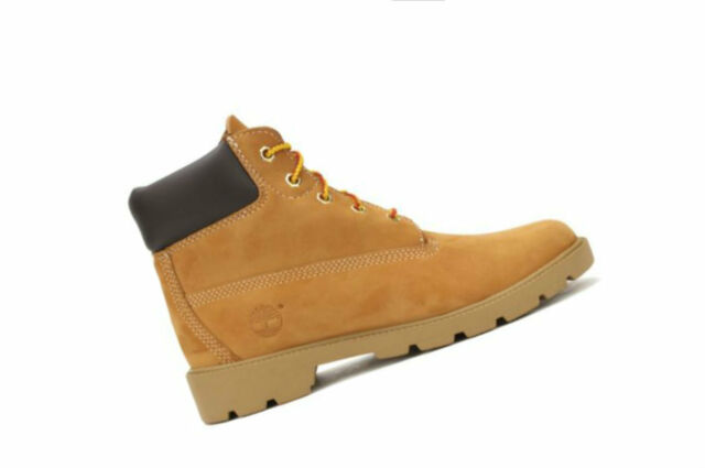 50694d9e63382 Timberland 6 in Boot Juniors 10960 Wheat Nubuck BOOTS Shoes Kids ...