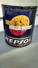 Nuevas Tazas de aceite de estilo vintage y retro Repsol-Tin/COCHE MOTO-puede mecánico de café