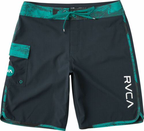 "RVCA Men/'s Eastern 20/"" Boardshorts MSRP $50 Teal Size 34"
