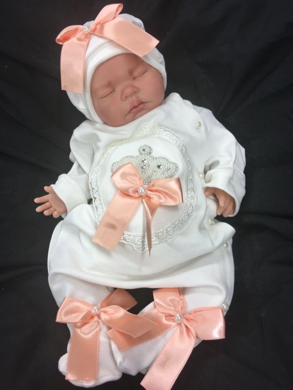 Bebé REBORN NIÑA valor pesado primero Renacido impresionante traje Blingy Romaní M