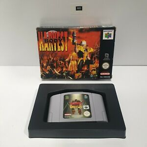 Body Harvest Nintendo 64 N64 juego BOXED PAL oz60