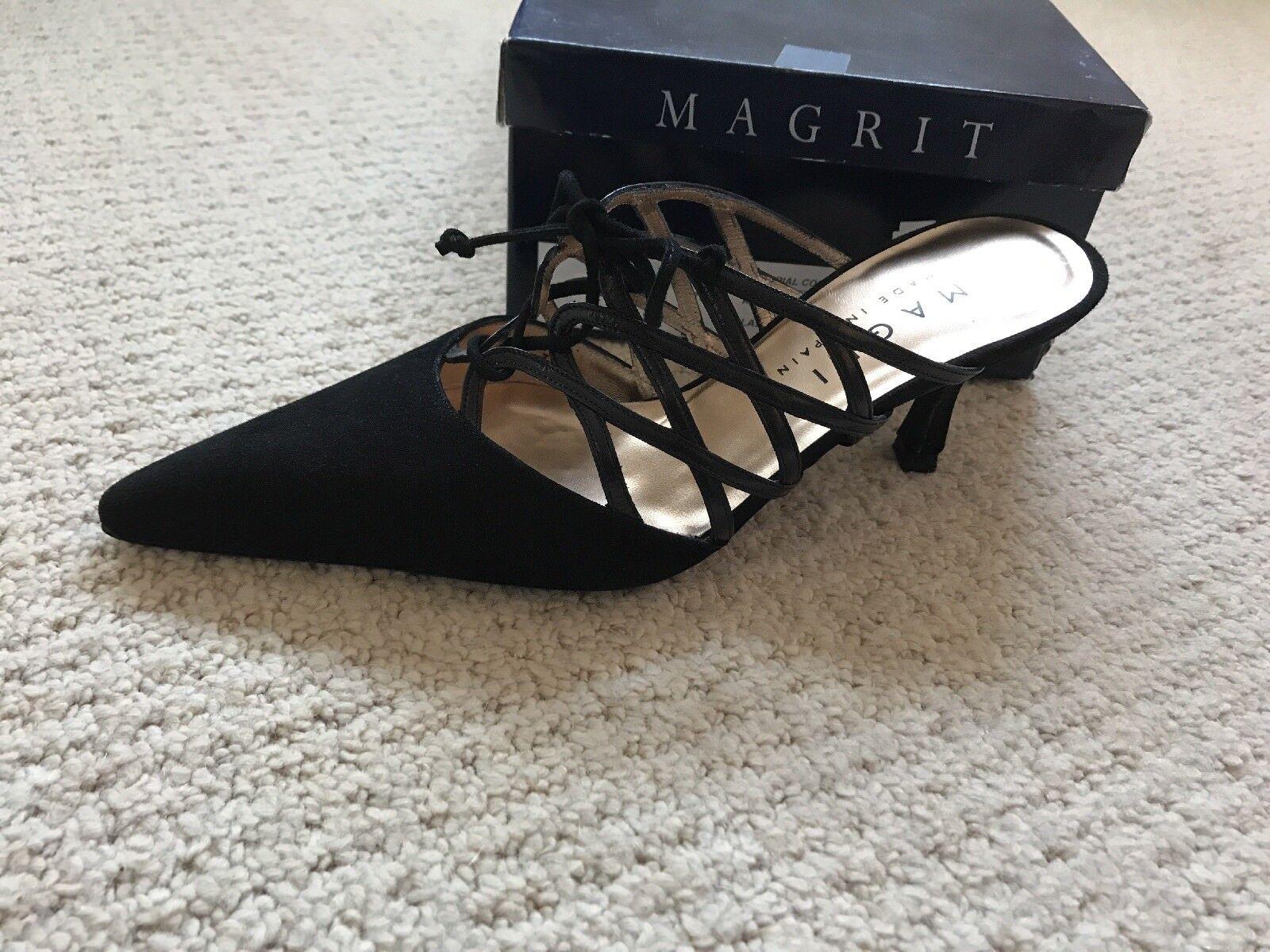 Magrit Suede Mules 37.5 (U.K. 4.5)