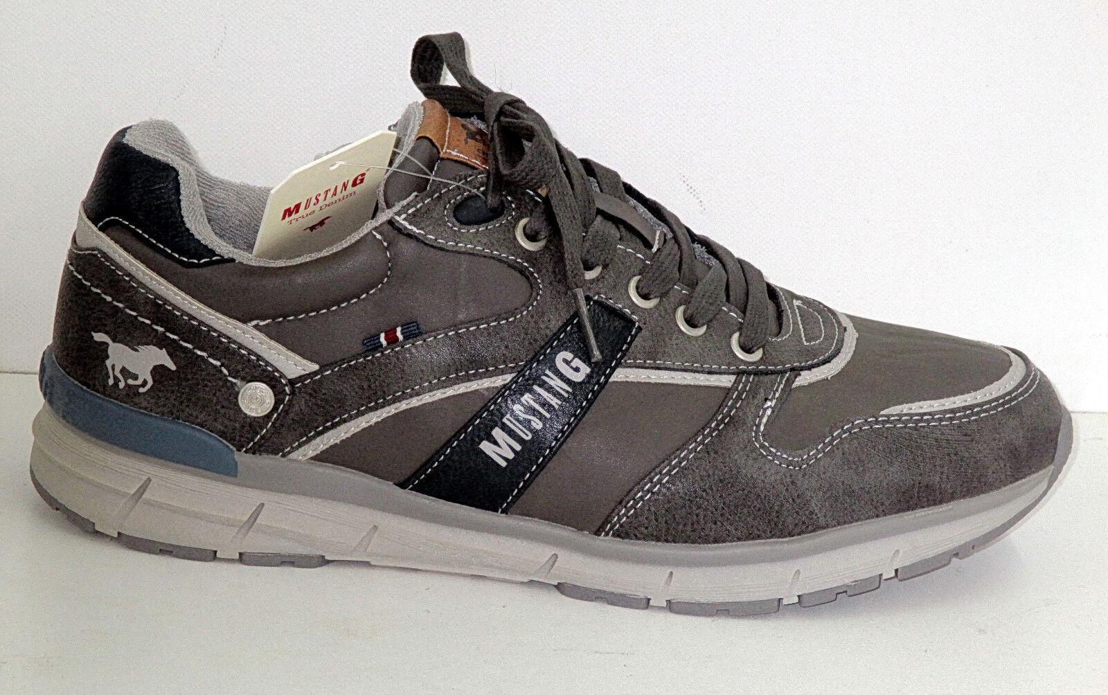 Mustang Scarpe uomo scarpe da ginnastica, art. 4131-303-2, Grigio, Nuovo +++ +++