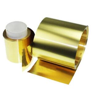 0,02*100*500 mm de latón chapa fina lámina cinturón de metal suministros de edición