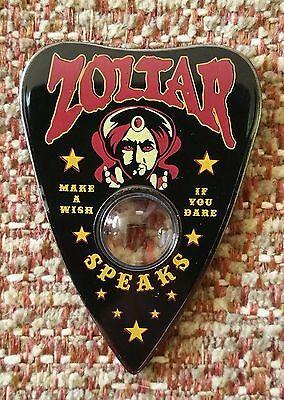 ZOLTAR SPEAKS CRYSTAL BALL OUIJA planchette Lapel Pin