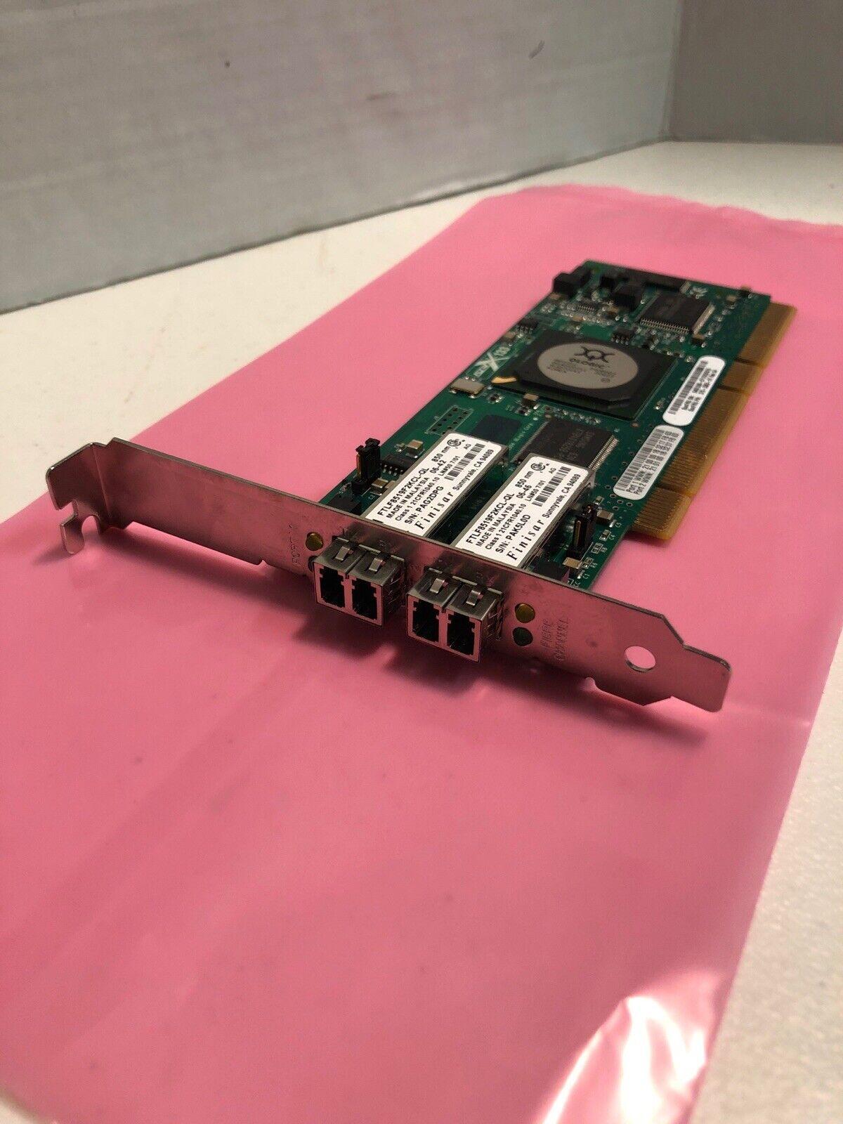 IBM QLogic PCI-x 2-Port FC 2GB Network Card QLA2342R 375-3363-01
