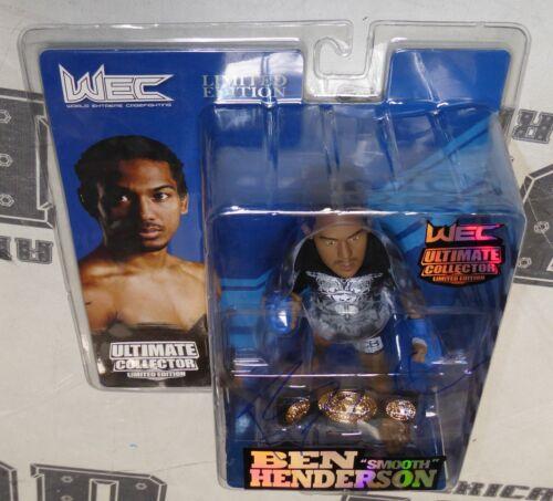 Benson Henderson Signed WEC Round 5 Action Figure BAS Beckett COA UFC Autograph