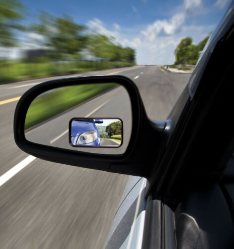 Set of 2 Blind Spot Mirrors for Cars Autos Truck Size 3.9 W x 2.5 H inches