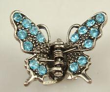 butterfly Hair claw Crystal alloy Rhinestone Hair Clip Jaw Hairpin Fashion a5a